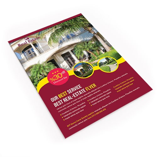 Full Color Printing 11x17 Flyer From