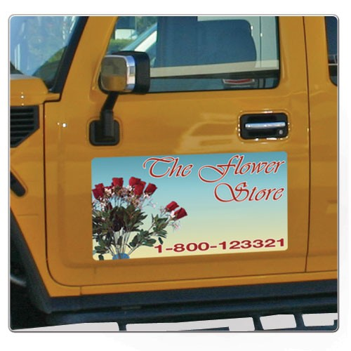 Full Color Car Magnet 24x12