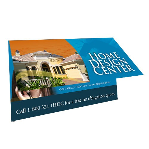 Full color printing 35 x 40 fold over business card from only 35 x 40 fold over business card reheart Choice Image