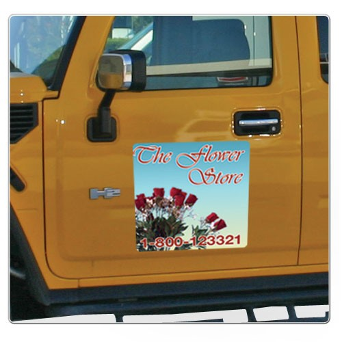 Full Color Car Magnet 24x24