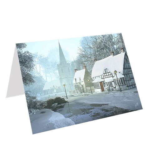 5x7 (Folded) 14PT Greeting Cards Matte Dull Finish
