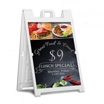 Signicade Deluxe 24x36 Sidewalk Sign Full Color Printing