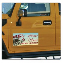Full Color Car Magnet 9x24