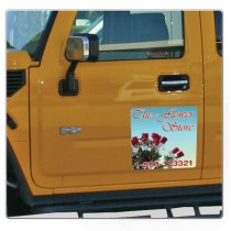 Full Color Car Magnet 9x9