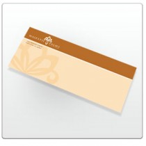 9.5 x 4.125 Full Color Envelope with bleed.
