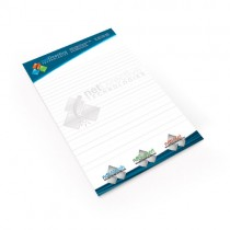 8.5x5.5 25 Sheet Notepad