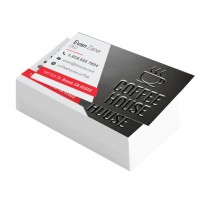 2X3.5 16PT Suede Business Cards with Spot UV