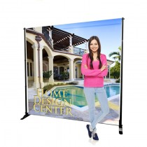 10ft X 8ft Telescopic Backdrop Stand and Banner