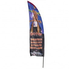 8ft Polyester Feather Flag