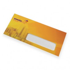 9.5 x 4.125 Full Color Envelope with bleed