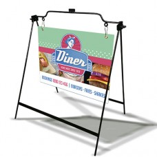 A-Frame with Coroplast Sign