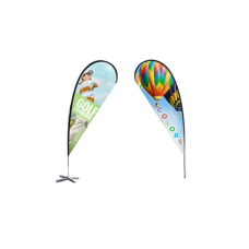 7ft Polyester Teardrop Flag