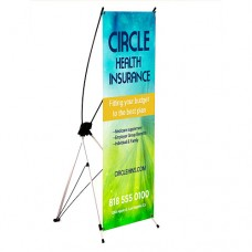 Economy Collapsible Banner Stand